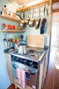 22 Tiny House Kitchen Storage Organization and Tips Ideas