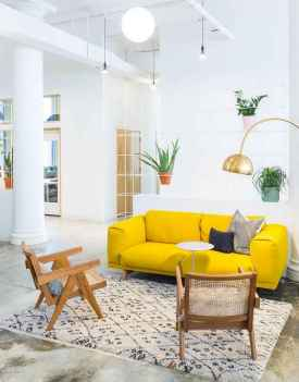 23 Beautiful Yellow Sofa for Living Room Decor Ideas