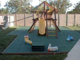 24 Exciting Small Backyard Playground Kids Design Ideas