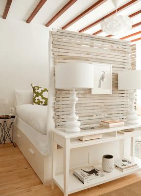 27 Clever Studio Apartment Decorating ideas