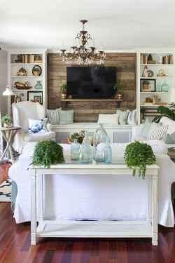28 Beautiful Coastal Living Room Decor Ideas