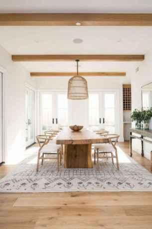 28 Beautiful Farmhouse Dining Room Table Design Ideas