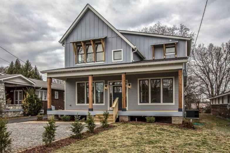 29 Awesome Modern Farmhouse Exterior Design Ideas