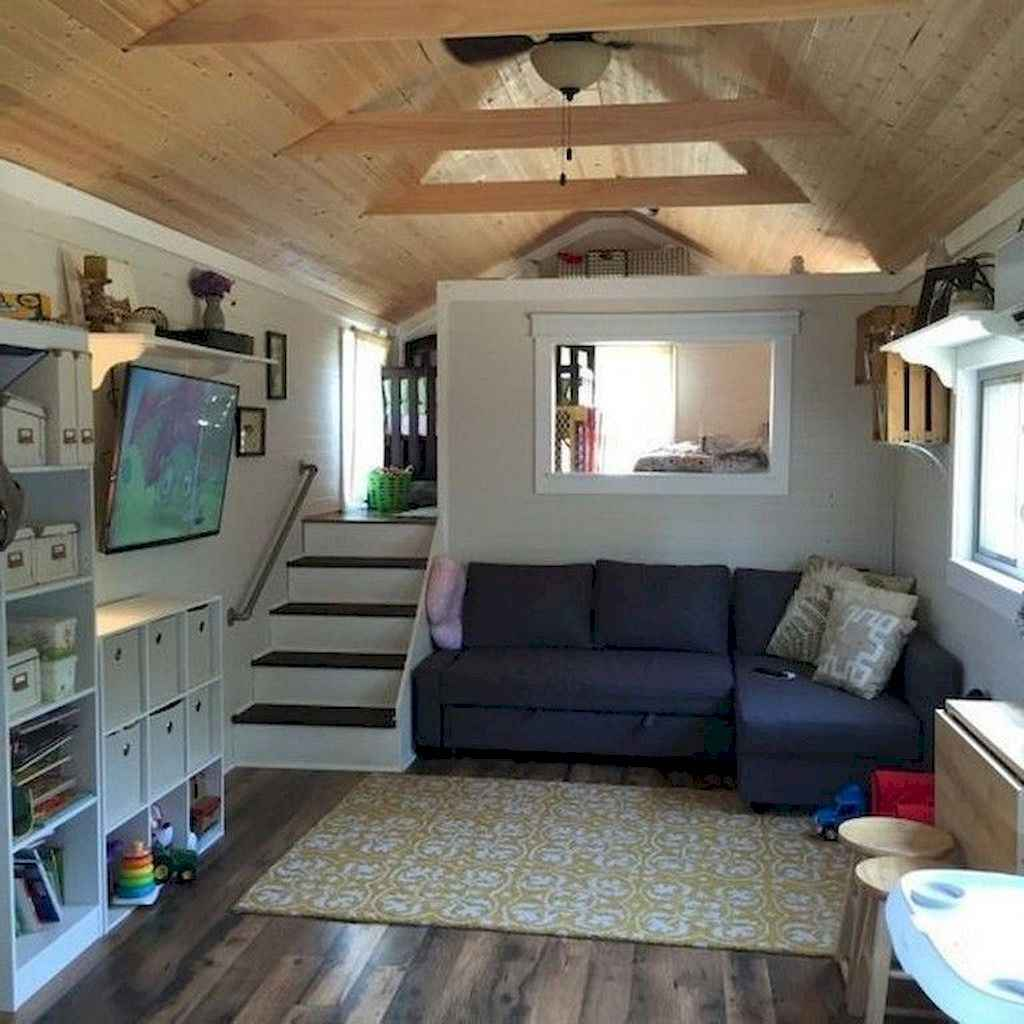 29 Clever Loft Stair Design for Tiny House Ideas