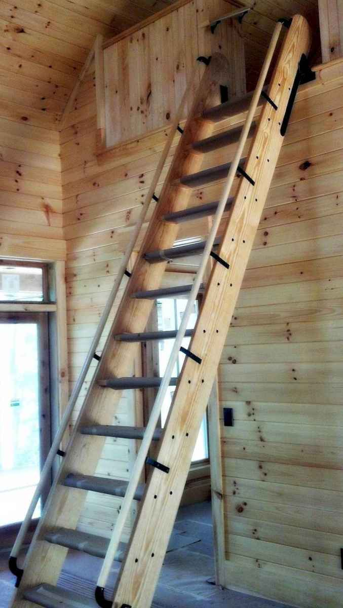 33 Clever Loft Stair Design for Tiny House Ideas