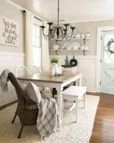 34 Beautiful Farmhouse Dining Room Table Design Ideas