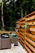 34 DIY Backyard Privacy Fence Design Ideas on A Budget