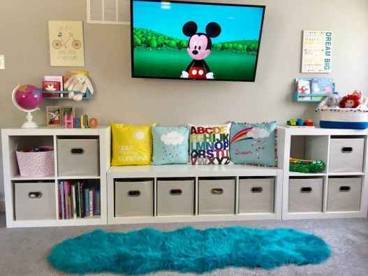 36 Clever Kids Bedroom Organization and Tips Ideas
