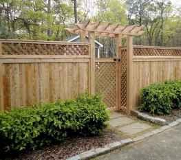 38 DIY Backyard Privacy Fence Design Ideas on A Budget