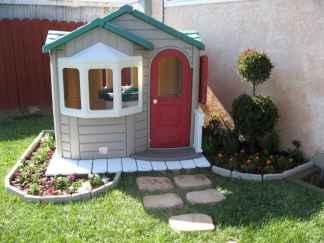 38 Exciting Small Backyard Playground Kids Design Ideas