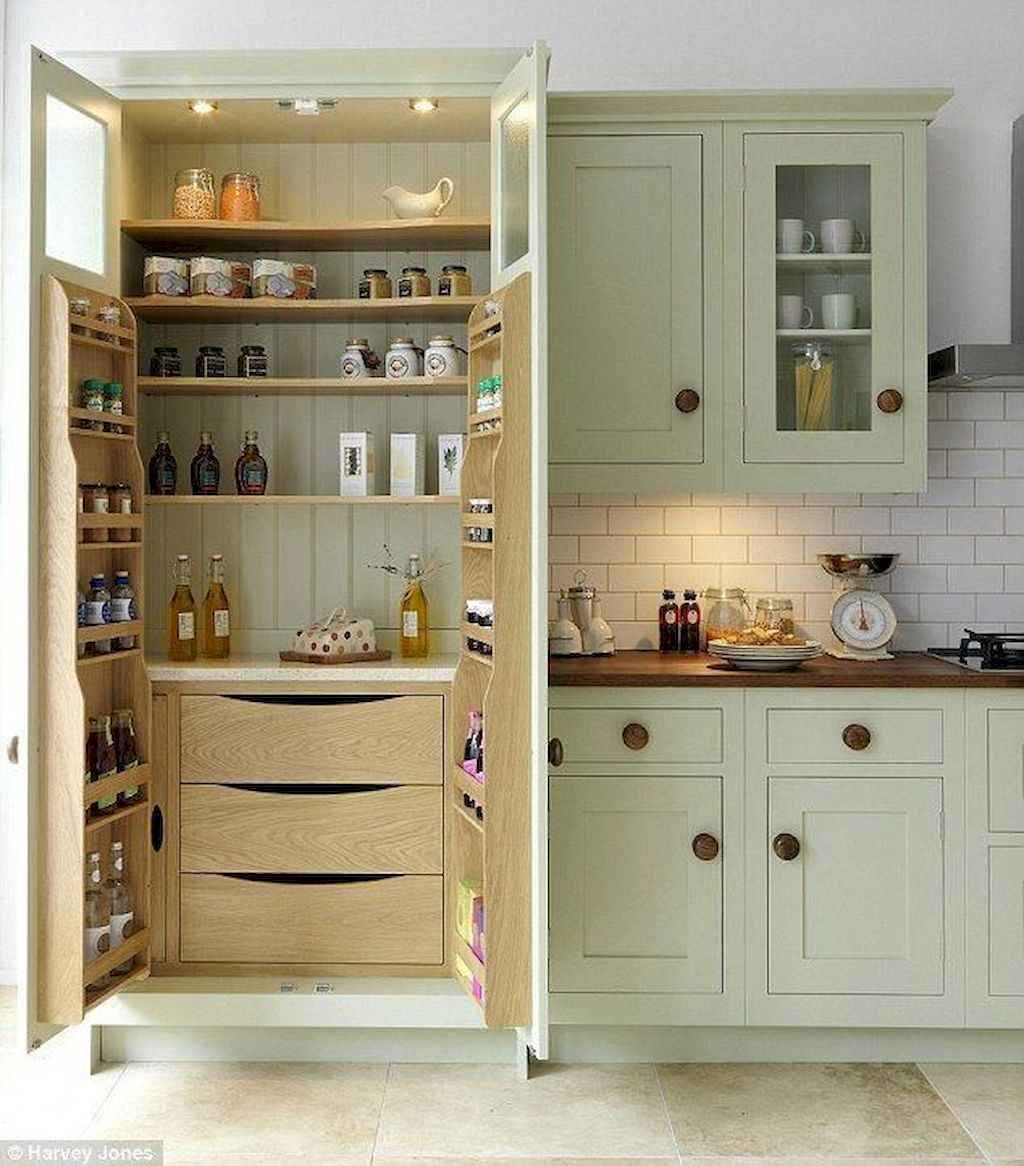38 Tiny House Kitchen Storage Organization and Tips Ideas