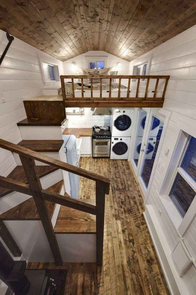 41 Clever Loft Stair Design for Tiny House Ideas