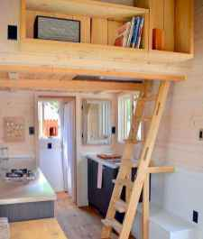 43 Clever Loft Stair Design for Tiny House Ideas