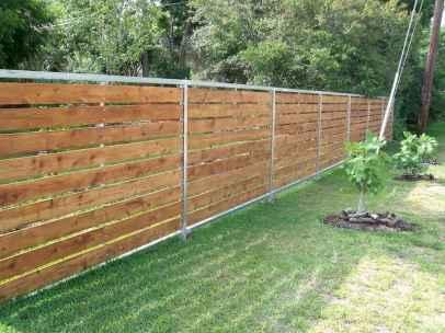 43 DIY Backyard Privacy Fence Design Ideas on A Budget
