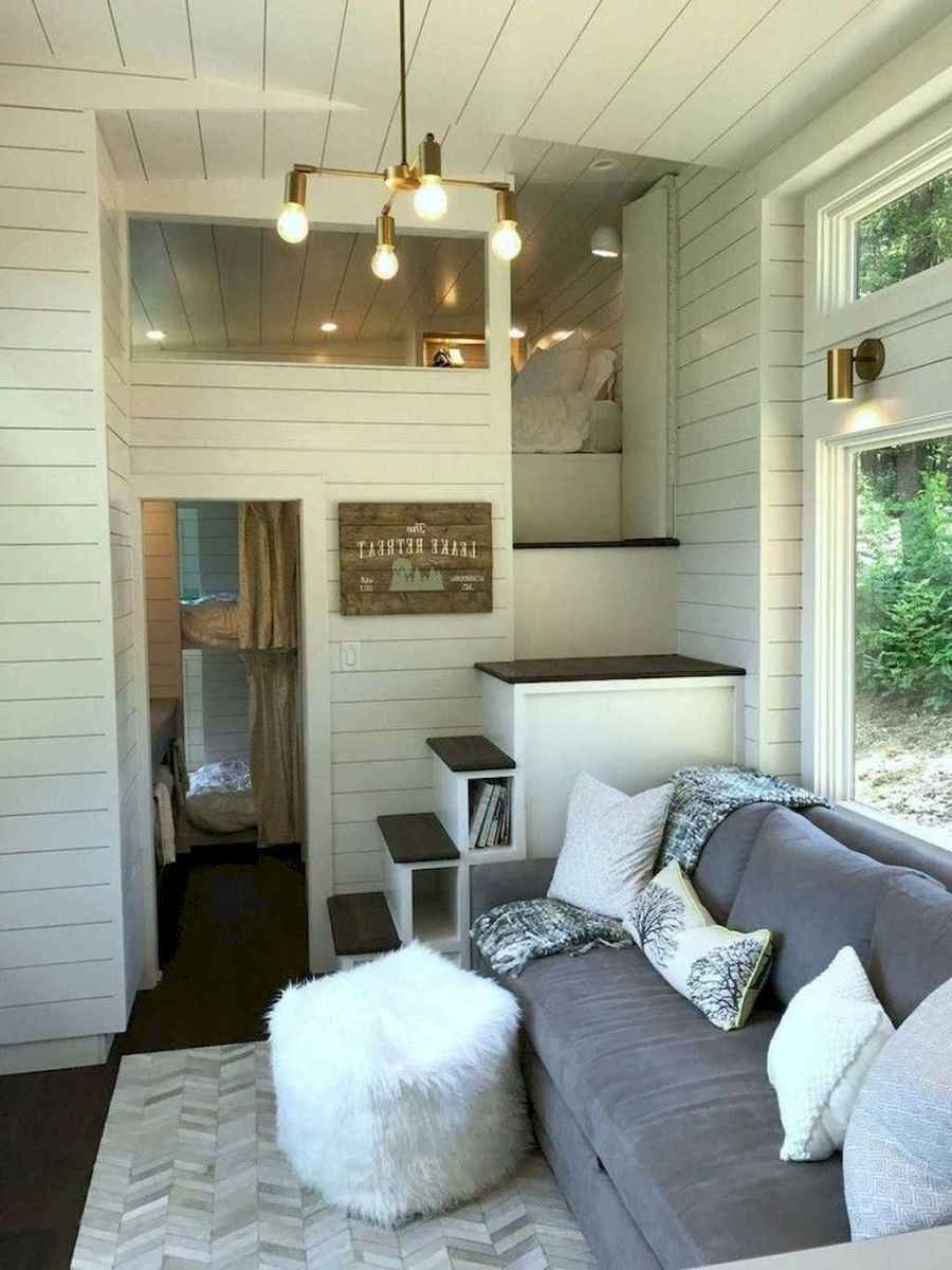 44 Clever Loft Stair Design for Tiny House Ideas