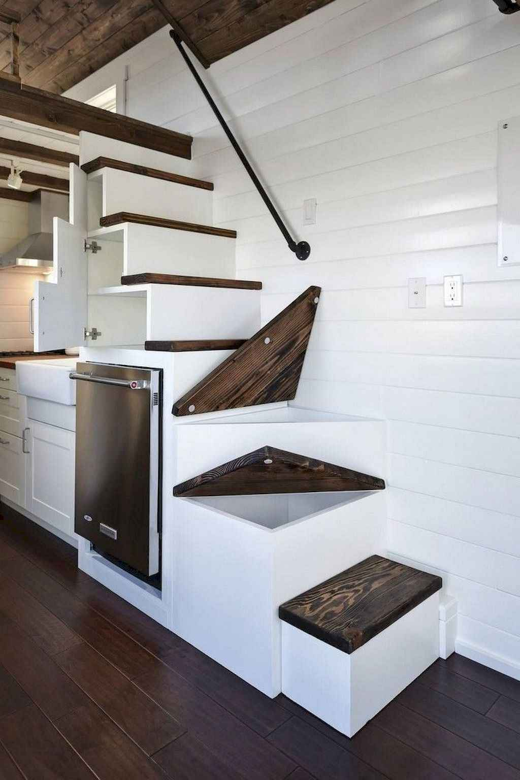 44 Tiny House Kitchen Storage Organization and Tips Ideas