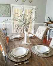 45 Beautiful Farmhouse Dining Room Table Design Ideas