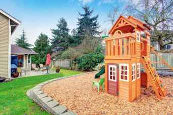 45 Exciting Small Backyard Playground Kids Design Ideas