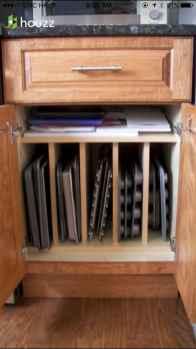 49 Brilliant Kitchen Cabinet Organization and Tips Ideas