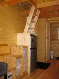 50 Clever Loft Stair Design for Tiny House Ideas