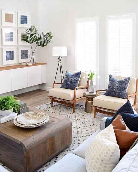 51 Beautiful Coastal Living Room Decor Ideas