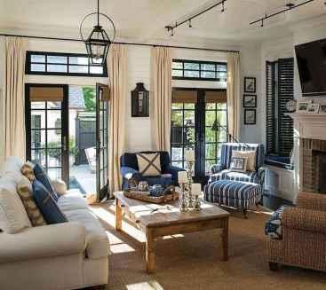 53 Beautiful Coastal Living Room Decor Ideas