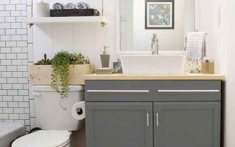 53 Smart Small Bathroom Storage Organization and Tips Ideas