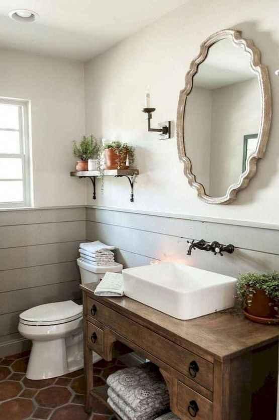 55 Modern Farmhouse Master Bathroom Remodel Ideas
