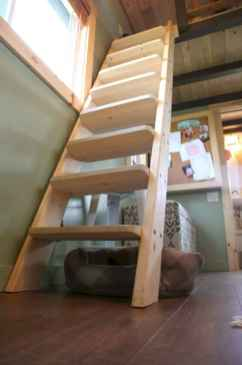 57 Clever Loft Stair Design for Tiny House Ideas