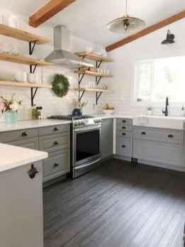 58 Beautiful Farmhouse Kitchen Backsplash Design Ideas