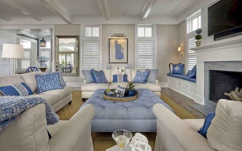 60 Beautiful Coastal Living Room Decor Ideas