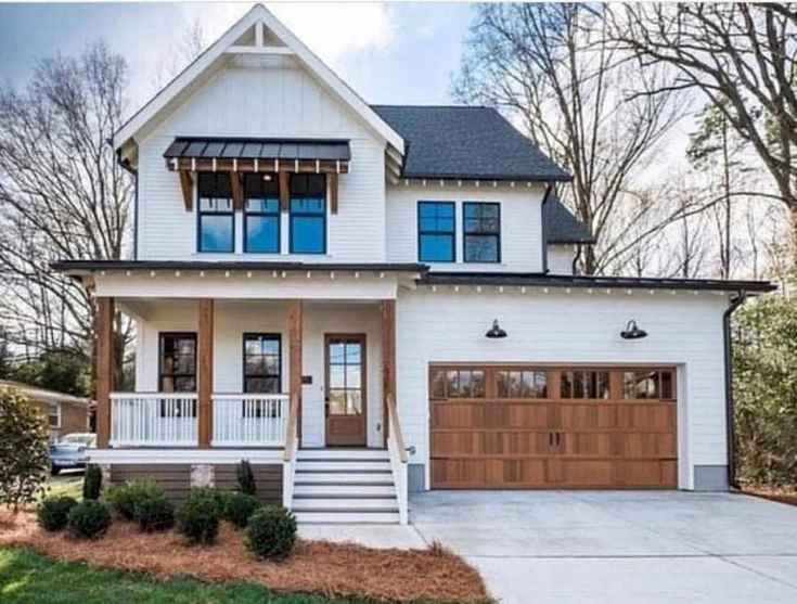62 Awesome Modern Farmhouse Exterior Design Ideas