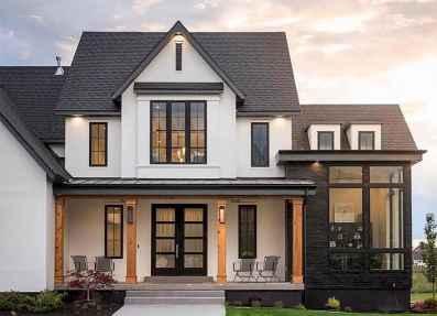 63 Awesome Modern Farmhouse Exterior Design Ideas