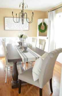 63 Beautiful Farmhouse Dining Room Table Design Ideas