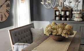 64 Beautiful Farmhouse Dining Room Table Design Ideas