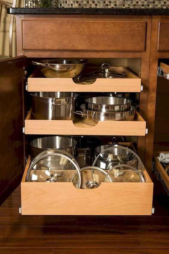65 Brilliant Kitchen Cabinet Organization and Tips Ideas