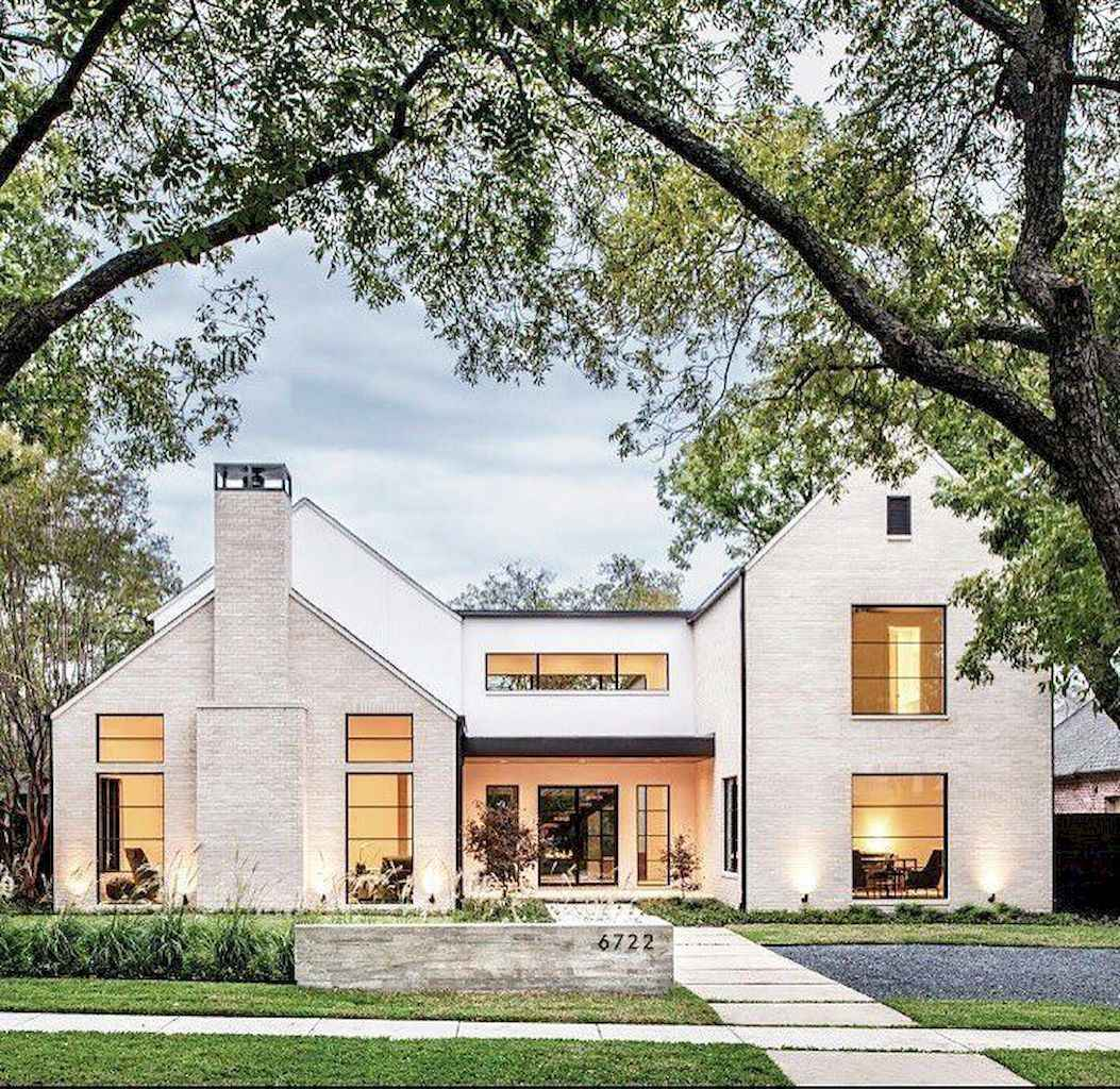 68 Awesome Modern Farmhouse Exterior Design Ideas