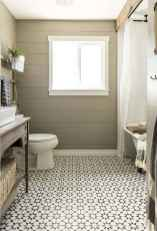 01 Awesome Farmhouse Bathroom Tile Floor Decor Ideas