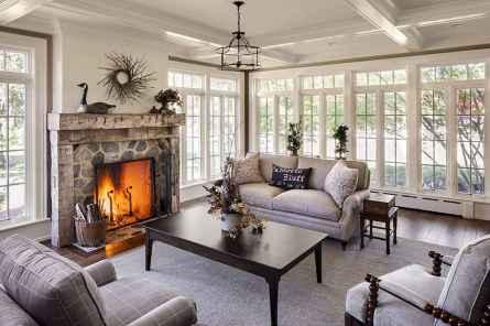 01 Cozy Farmhouse Sunroom Decor Ideas