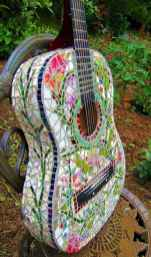 03 Excellent DIY Mosaic Garden Decoration Ideas for Front and Backyard Landscaping