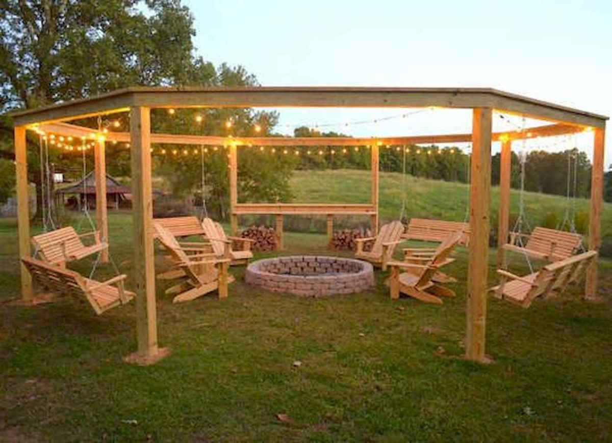 04 Easy Backyard Fire Pit with Cozy Seating Area Ideas