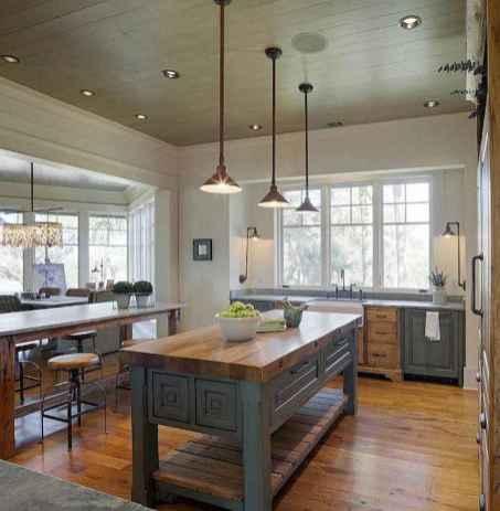 04 Functional Farmhouse Kitchen Island Design Ideas