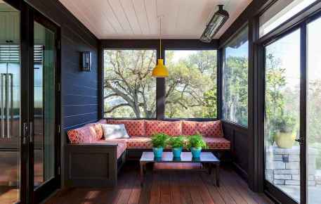 06 Cozy Farmhouse Sunroom Decor Ideas