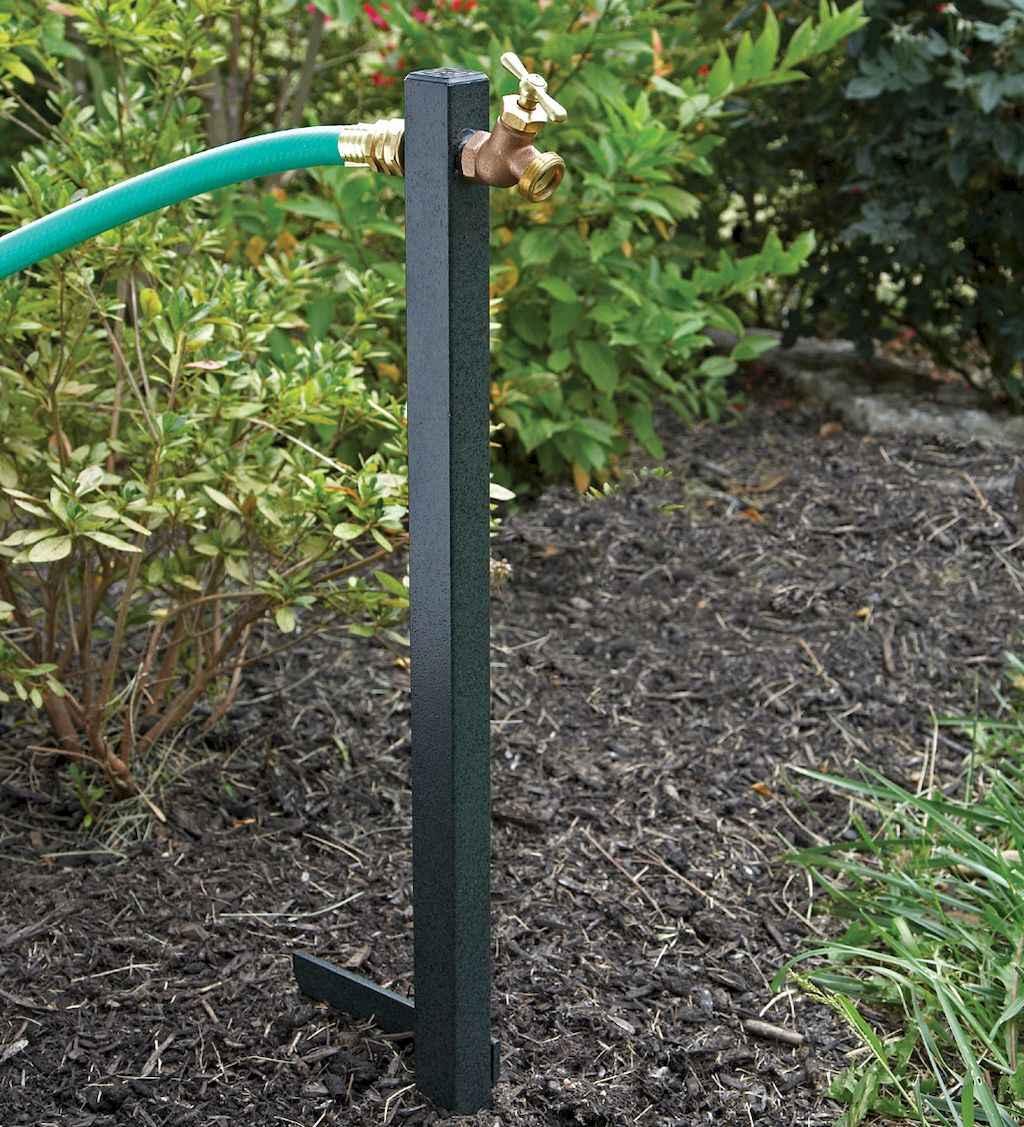 06 Inspiring Faucet Garden Decor for Front and Backyard Ideas