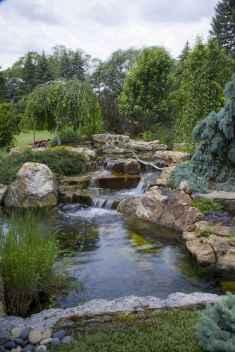 06 Unique Backyard Garden Water Feature Landscaping Ideas