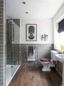 07 Awesome Farmhouse Bathroom Tile Floor Decor Ideas