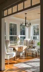 07 Cozy Farmhouse Sunroom Decor Ideas