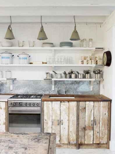 09 Incredible Farmhouse Gray Kitchen Cabinet Design Ideas