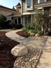 10 Awesome Front Yard Rock Garden Landscaping Ideas