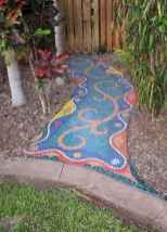 10 Excellent DIY Mosaic Garden Decoration Ideas for Front and Backyard Landscaping